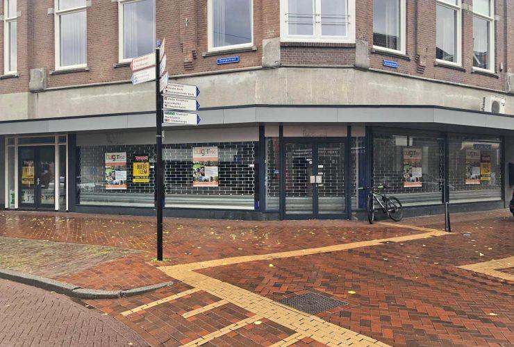 Winkelruimte hoek Oranjestraat 1 Grotestraat 2 Almelo bewerkt