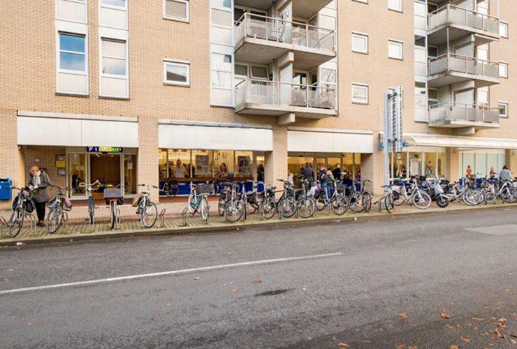 Voorzijde winkelpand Prijsmepper in Almelo