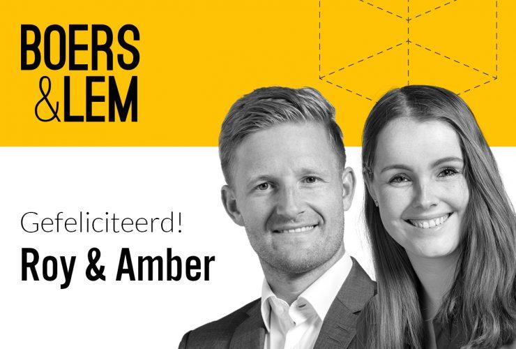 Roy en Amber van Boers en Lem leggen eed af makelaar taxateur nvm