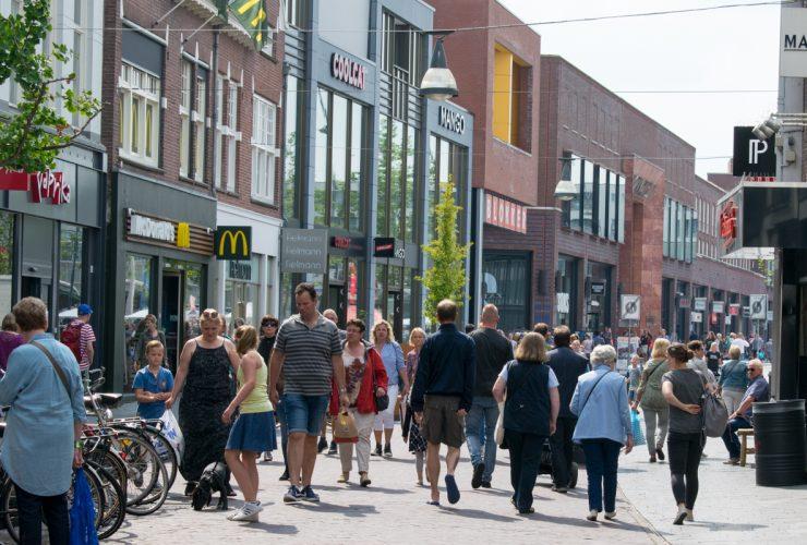 Enschede winkelstraat indebuurt